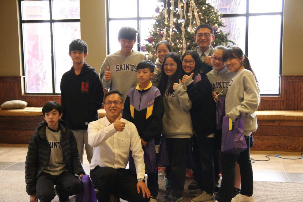 Sweet group of visiting Taiwanese Students!